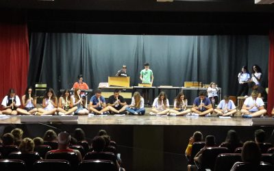 Muestra musical y alumnos con mención de honor